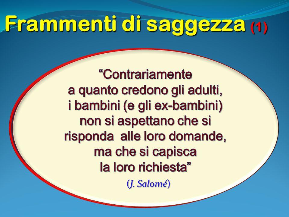 Frammenti di saggezza (1)