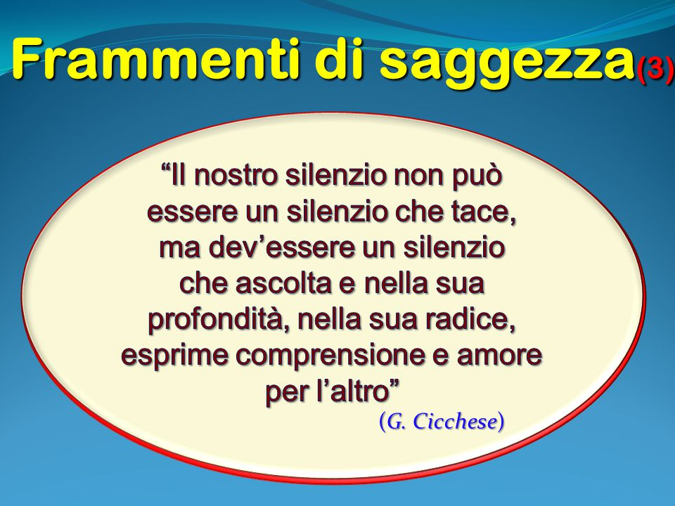 Frammenti di saggezza(3)