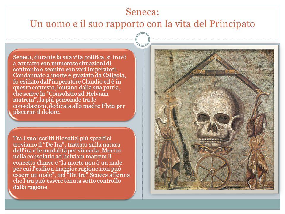 Seneca: Un uomo e il suo rapporto con la vita del Principato