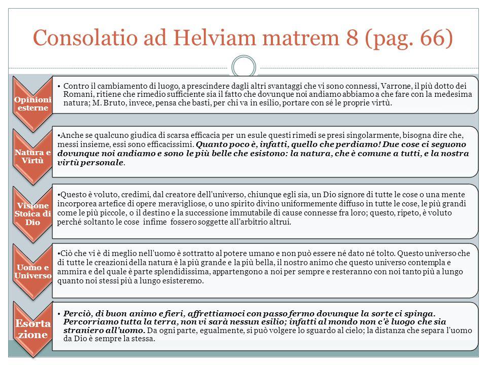 Consolatio ad Helviam matrem 8 (pag. 66)