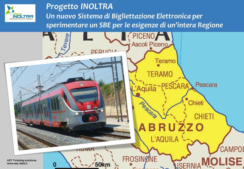 Progetto INOLTRA Un nuovo Sistema di Bigliettazione Elettronica per sperimentare un SBE per le esigenze di un'intera Regione