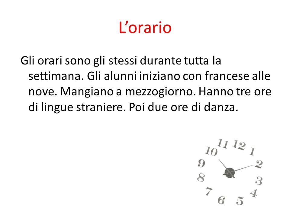 L'orario