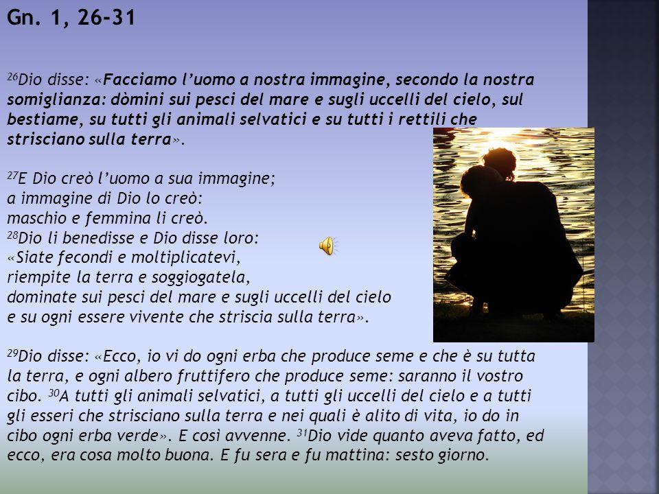 Gn. 1, 26-31