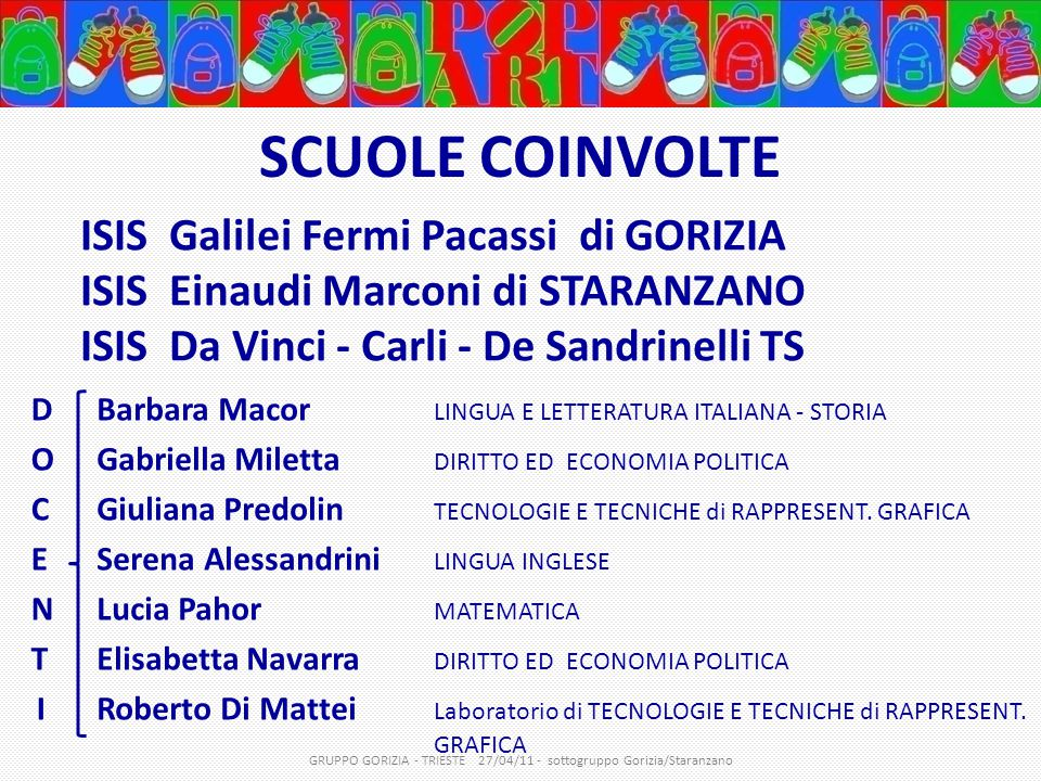 GRUPPO GORIZIA - TRIESTE 27/04/11 - sottogruppo Gorizia/Staranzano