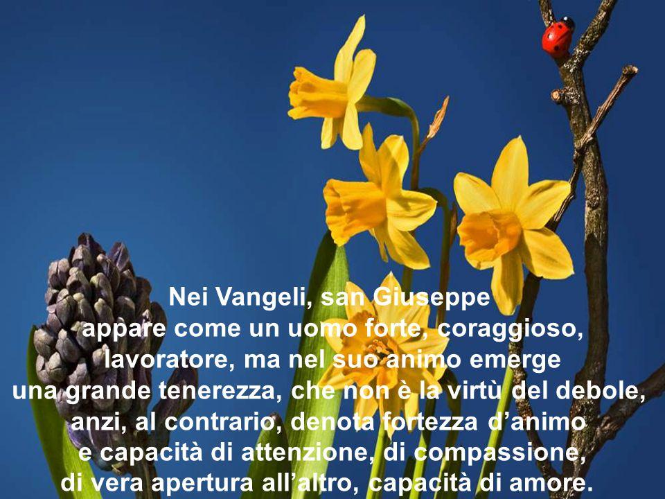 Nei Vangeli, san Giuseppe appare come un uomo forte, coraggioso,