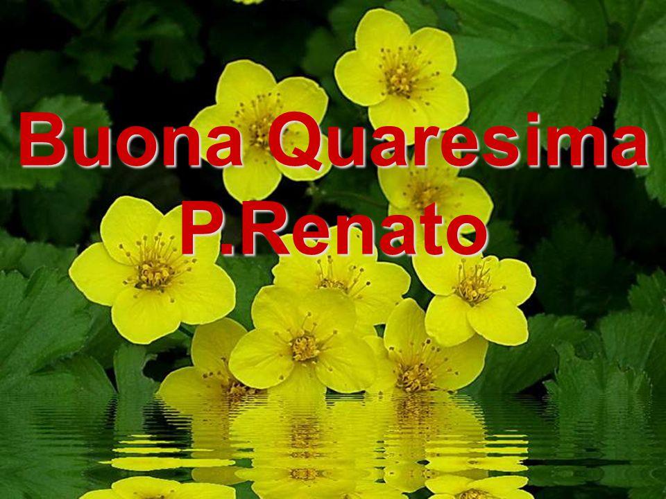 Buona Quaresima P.Renato