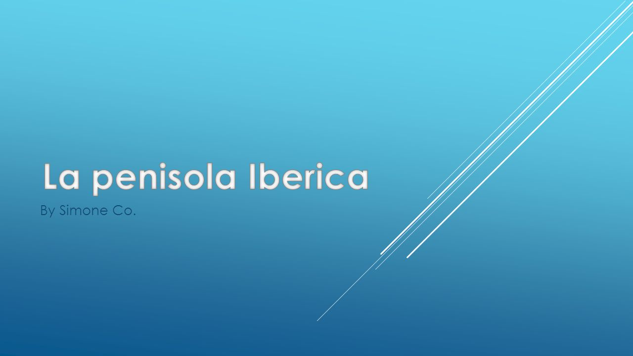 La penisola Iberica By Simone Co.