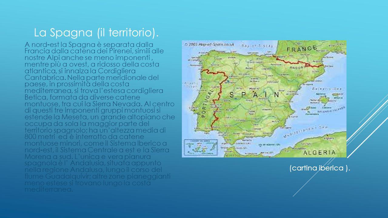La Spagna (il territorio).