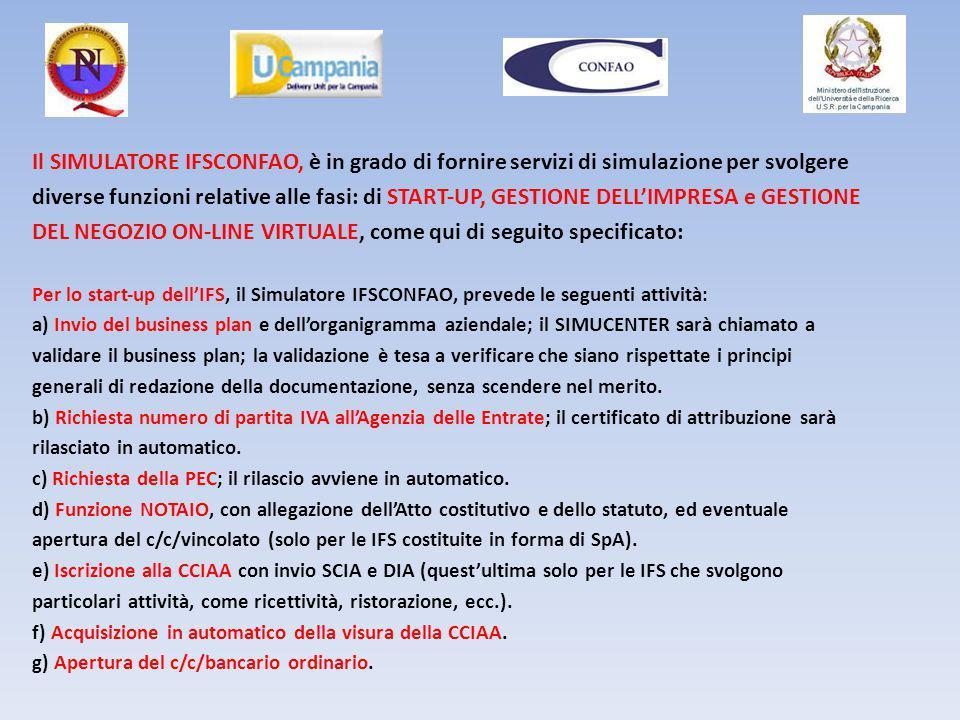 DEL NEGOZIO ON‐LINE VIRTUALE, come qui di seguito specificato: