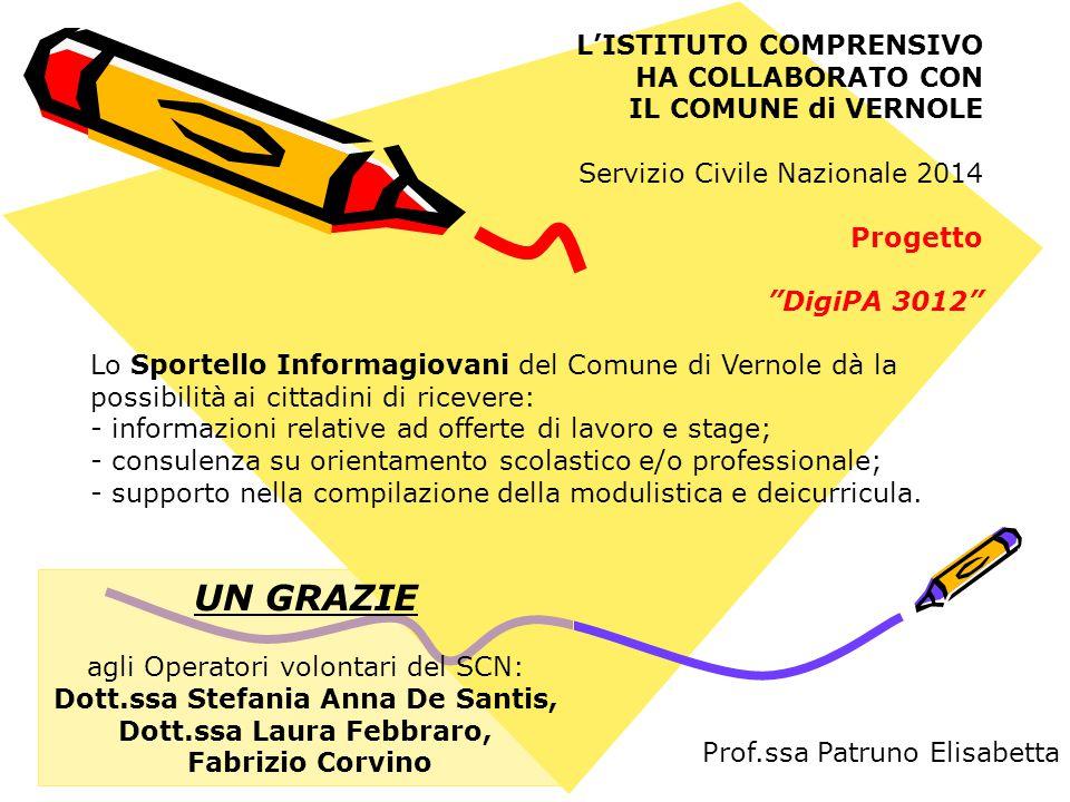 Dott.ssa Stefania Anna De Santis, Dott.ssa Laura Febbraro,