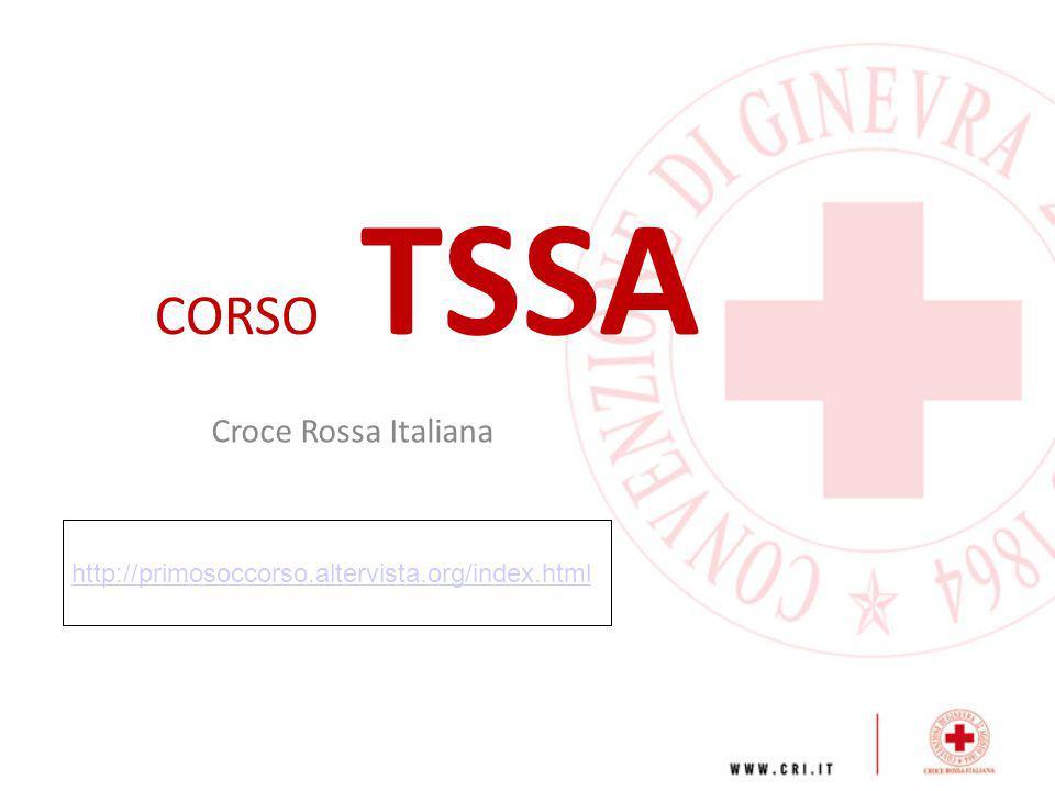 CORSO TSSA Croce Rossa Italiana