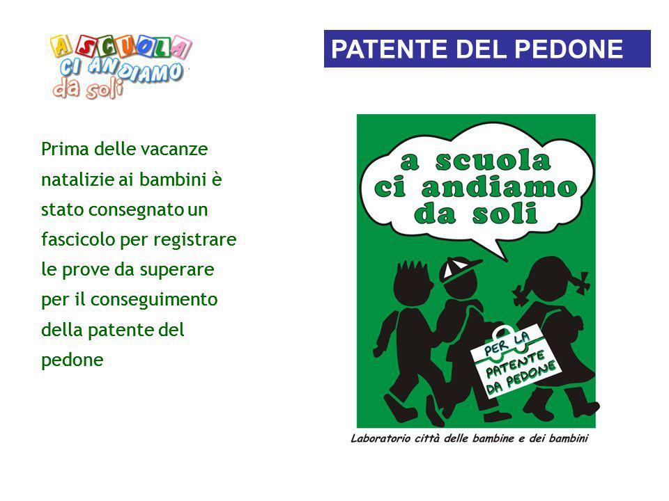 PATENTE DEL PEDONE PATENTE DEL PEDONE PATENTE DEL PEDONE