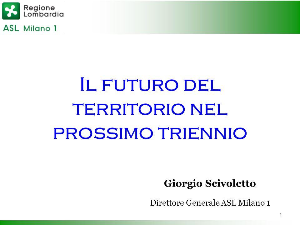 Il futuro del territorio nel prossimo triennio. Giorgio Scivoletto