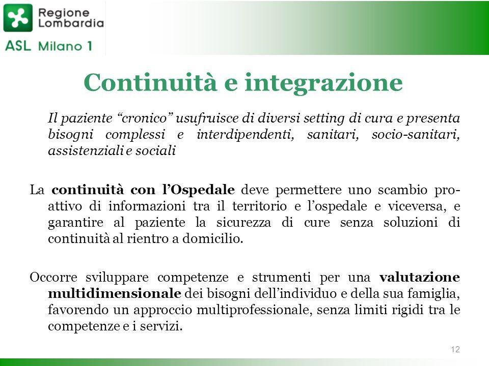 Continuità e integrazione