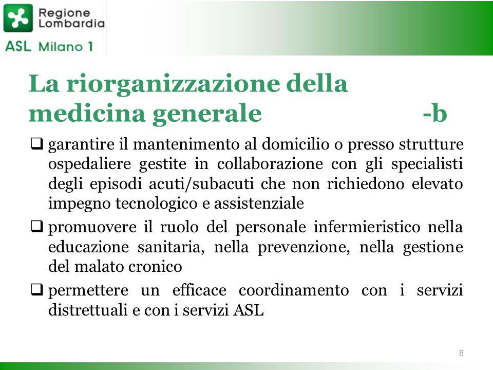 La riorganizzazione della medicina generale -b