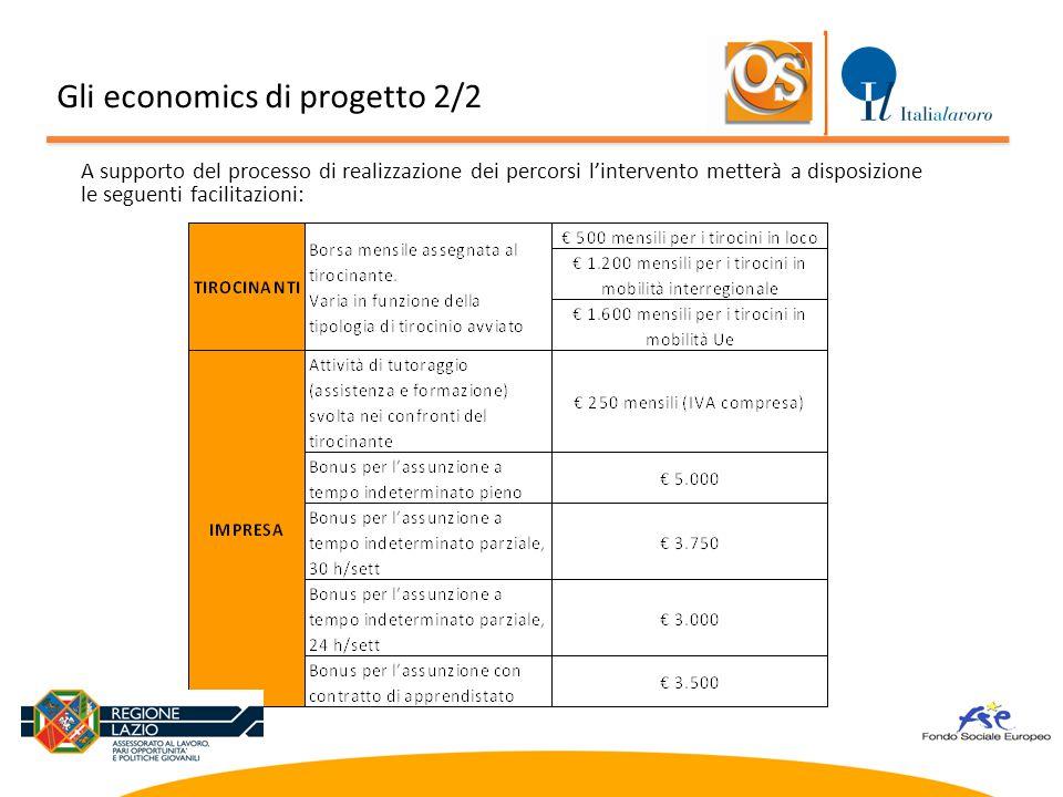 Gli economics di progetto 2/2
