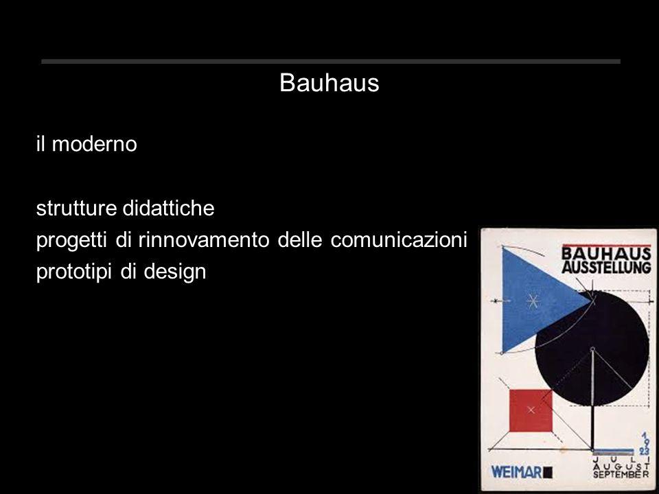 Bauhaus il moderno strutture didattiche