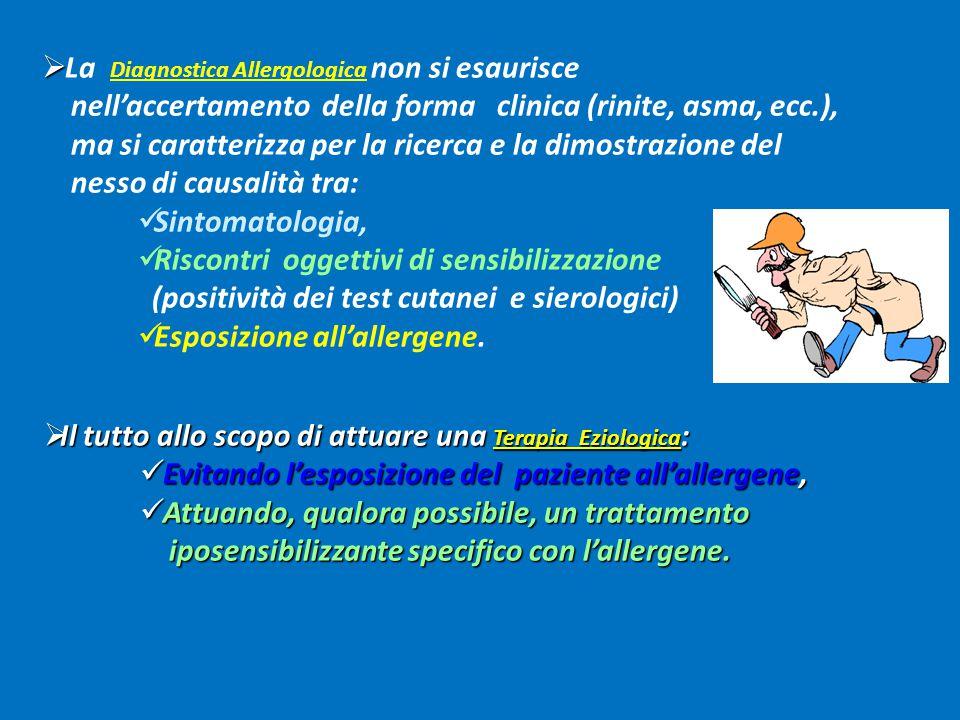 La Diagnostica Allergologica non si esaurisce