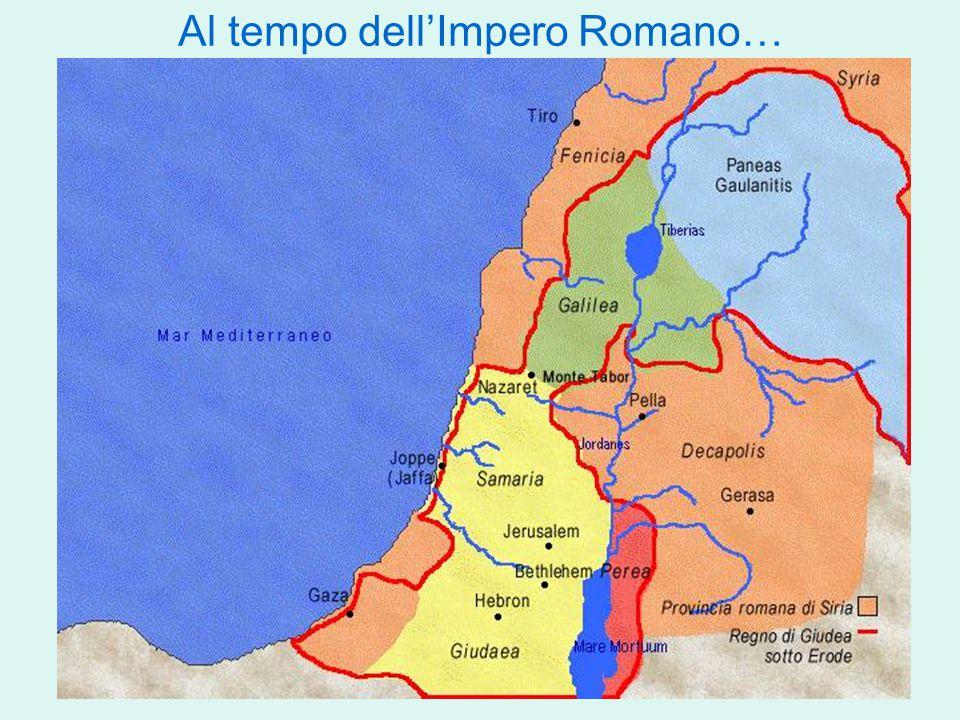 Al tempo dell'Impero Romano…