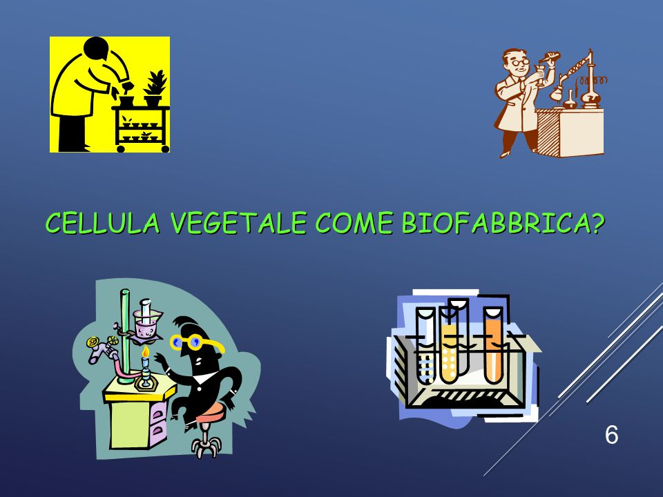 Cellula vegetale come biofabbrica