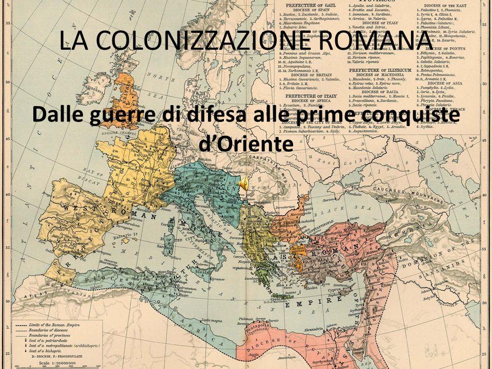 LA COLONIZZAZIONE ROMANA