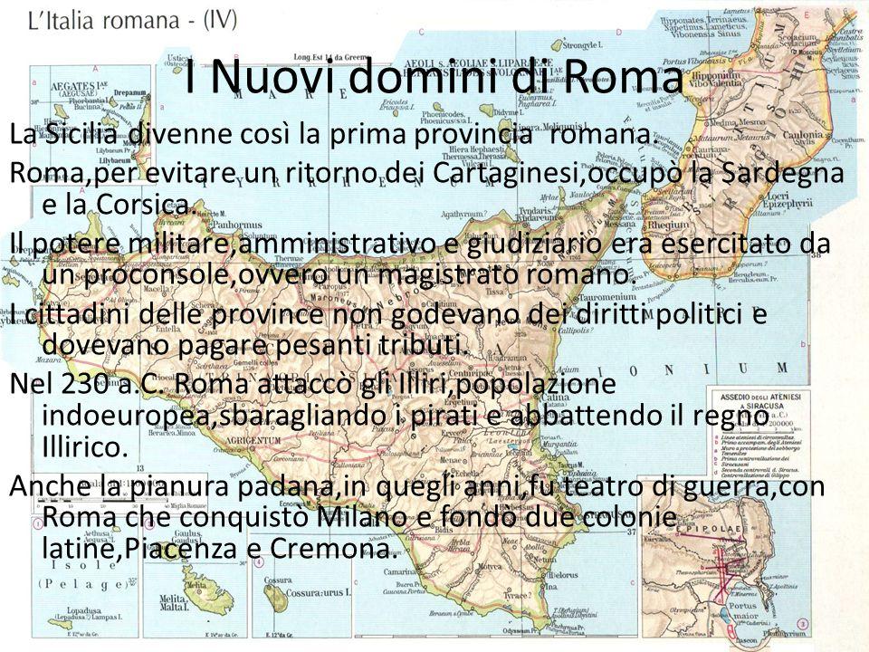 I Nuovi domini di Roma