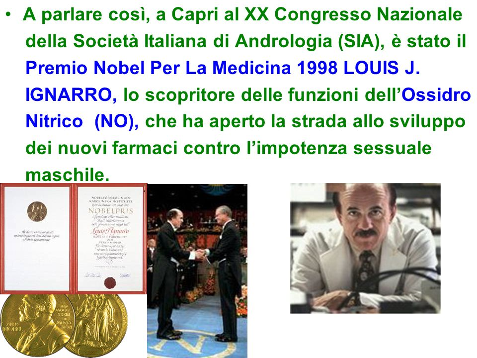 A parlare così, a Capri al XX Congresso Nazionale