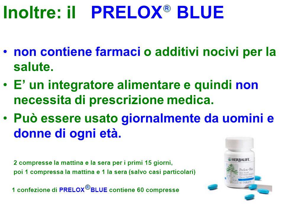 Inoltre: il PRELOX BLUE