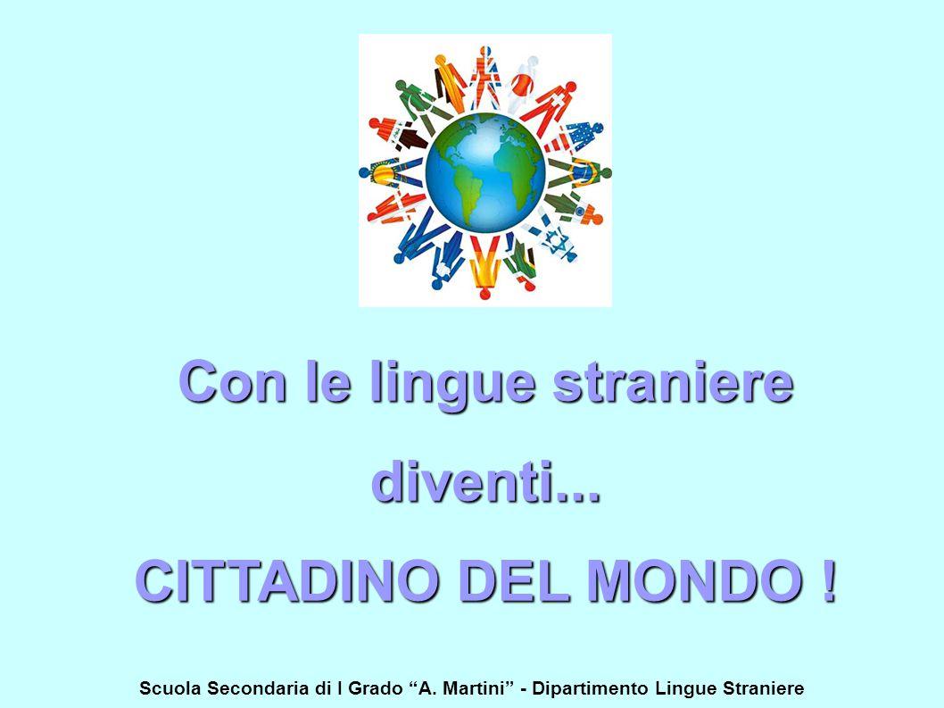 Con le lingue straniere