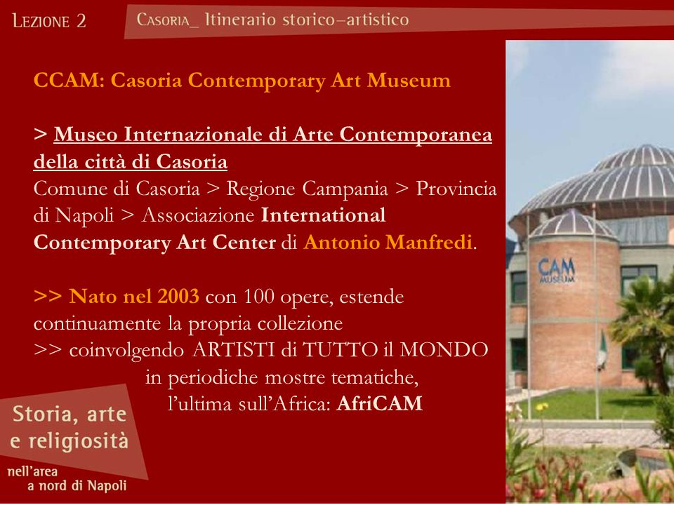 CCAM: Casoria Contemporary Art Museum