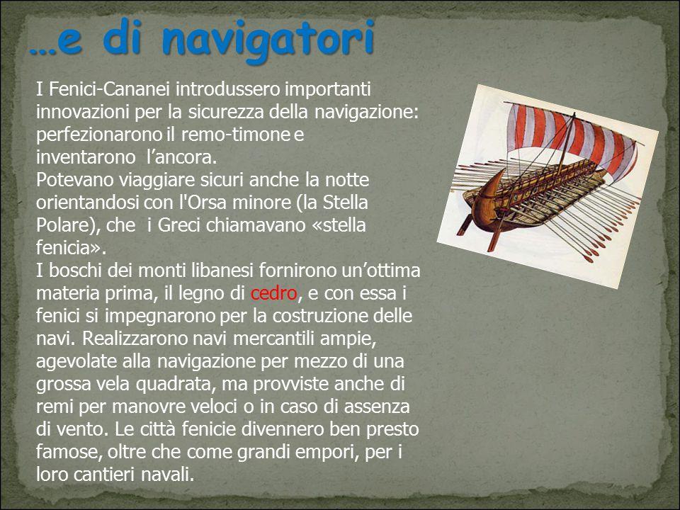 …e di navigatori