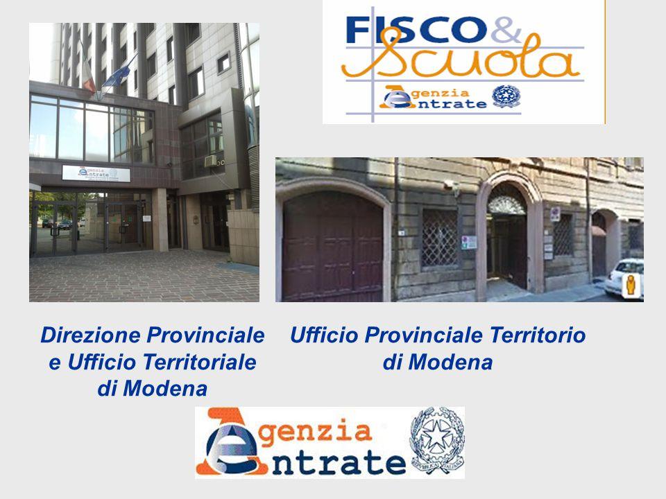 Direzione Provinciale e Ufficio Territoriale di Modena