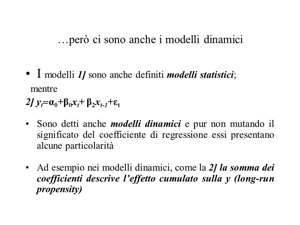 …però ci sono anche i modelli dinamici