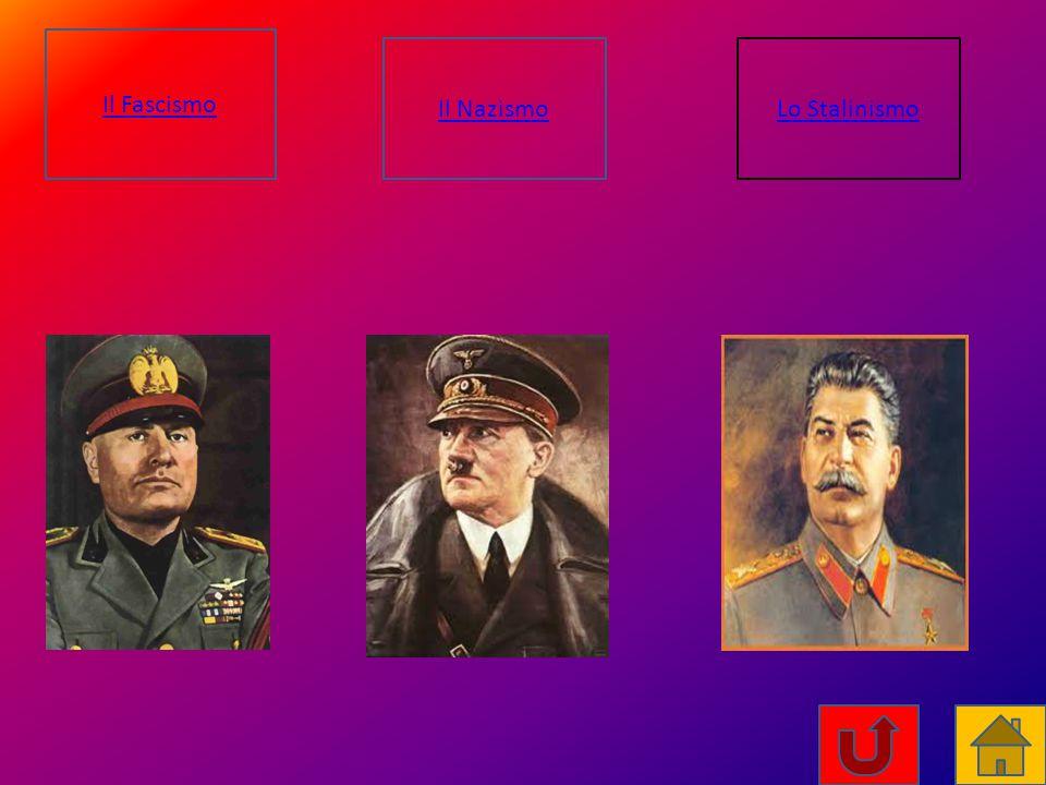 Il Fascismo Il Nazismo Lo Stalinismo