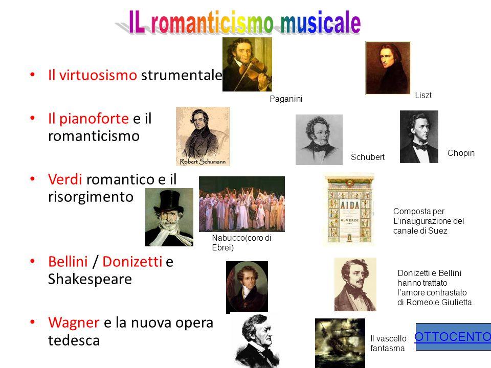 IL romanticismo musicale