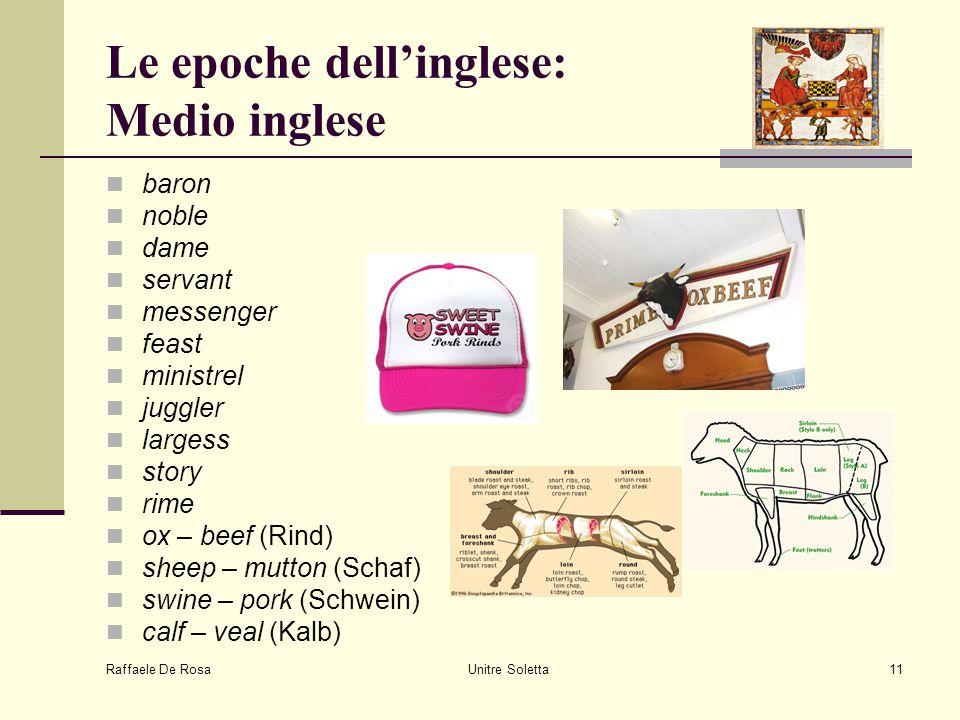 Le epoche dell'inglese: Medio inglese