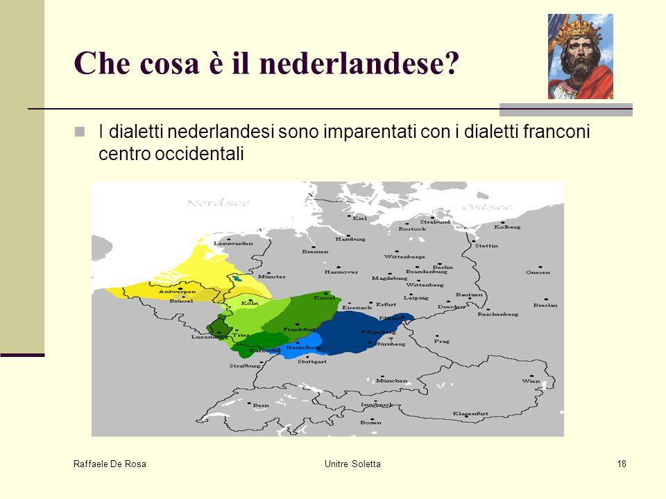 Che cosa è il nederlandese