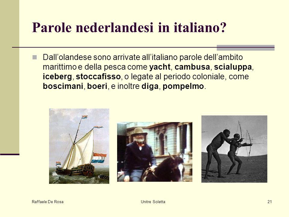 Parole nederlandesi in italiano