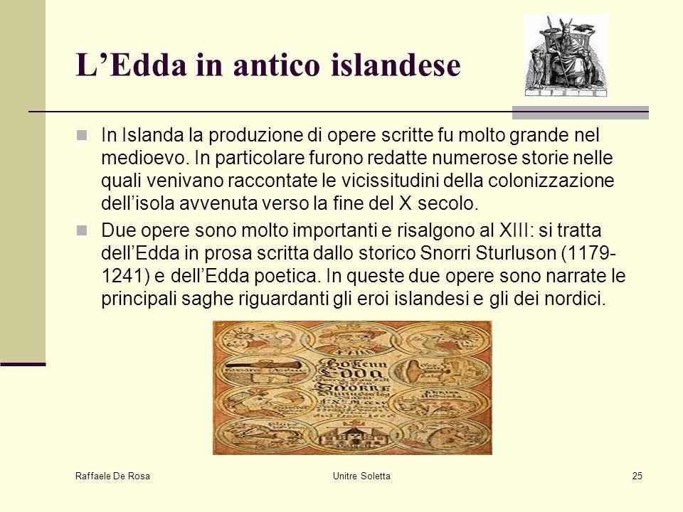 L'Edda in antico islandese