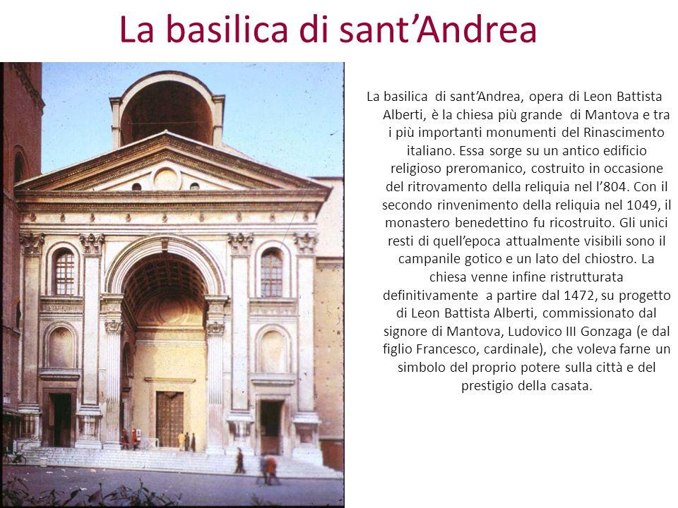 La basilica di sant'Andrea