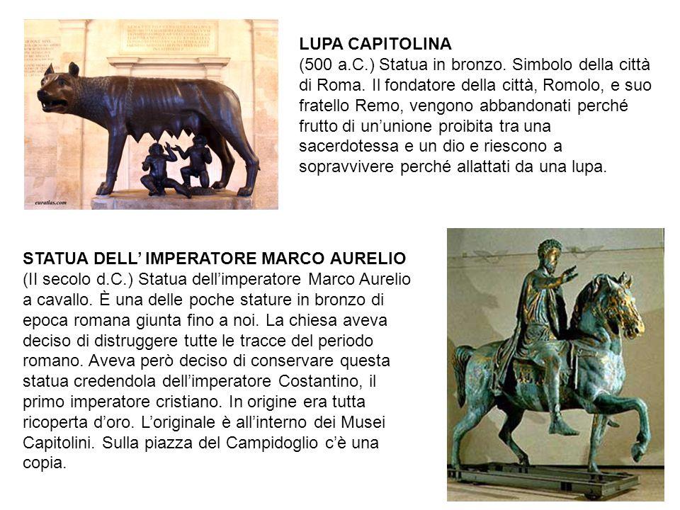 LUPA CAPITOLINA (500 a. C. ) Statua in bronzo
