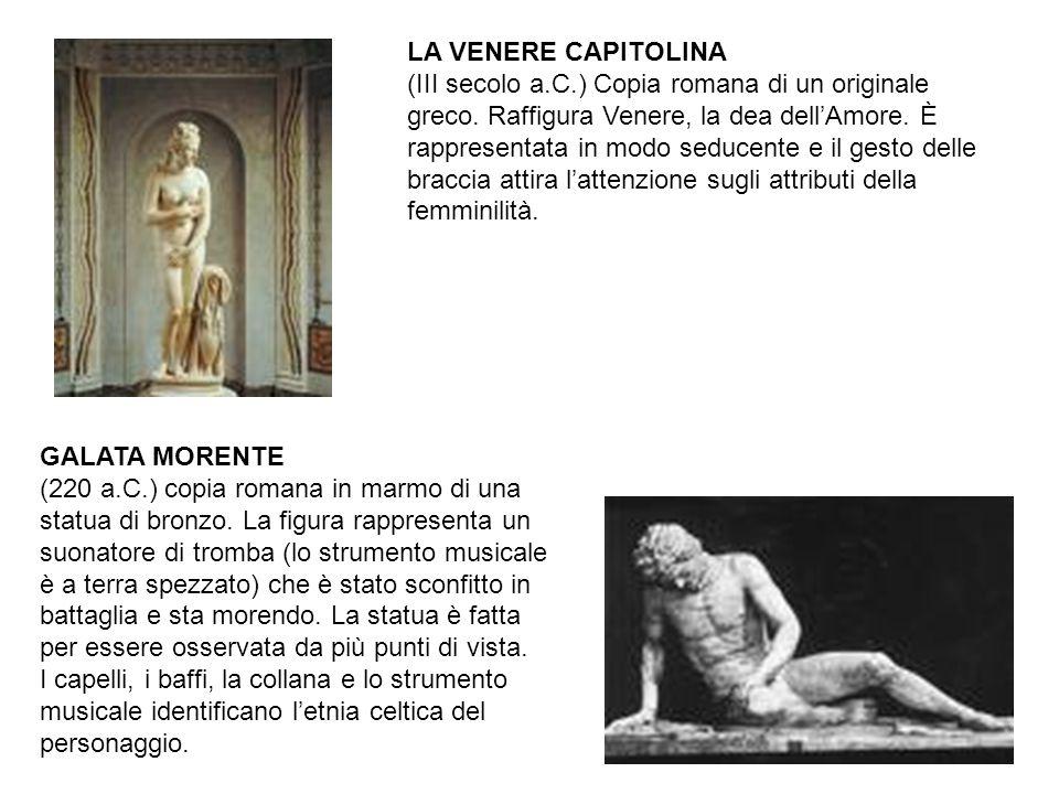LA VENERE CAPITOLINA (III secolo a. C