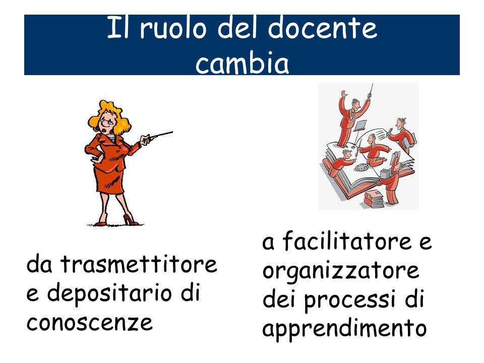 Il ruolo del docente cambia