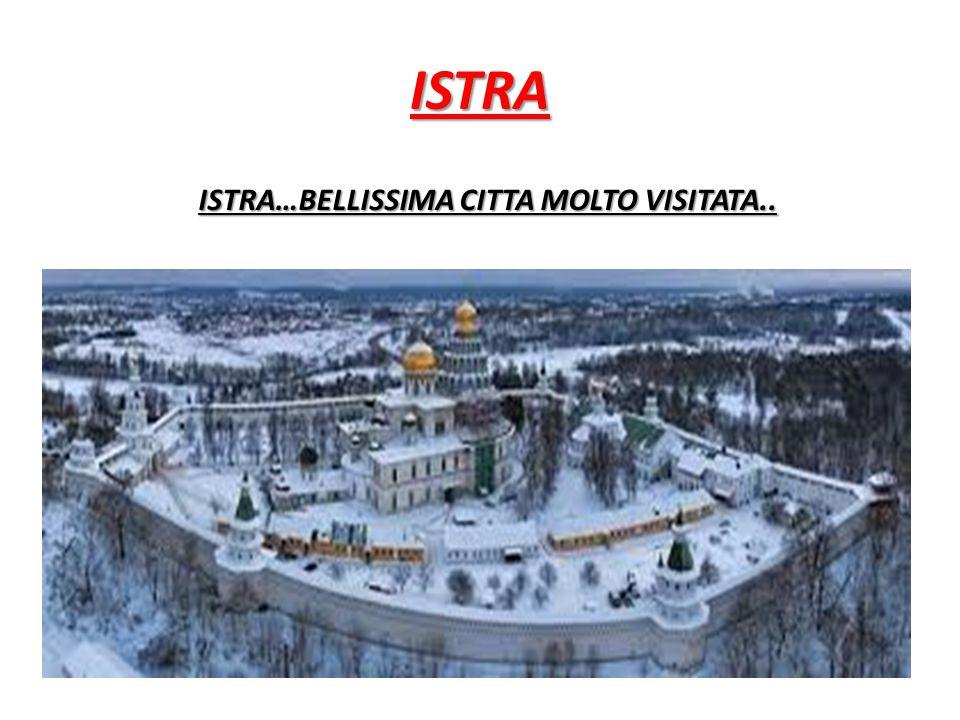 ISTRA…BELLISSIMA CITTA MOLTO VISITATA..