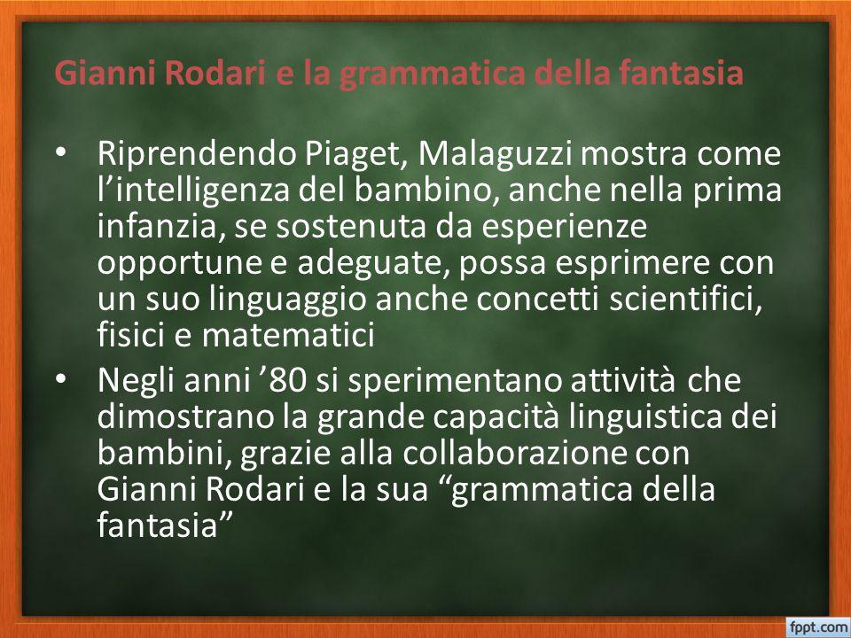 Gianni Rodari e la grammatica della fantasia
