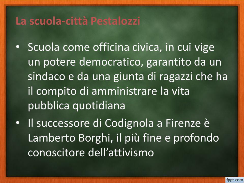 La scuola-città Pestalozzi