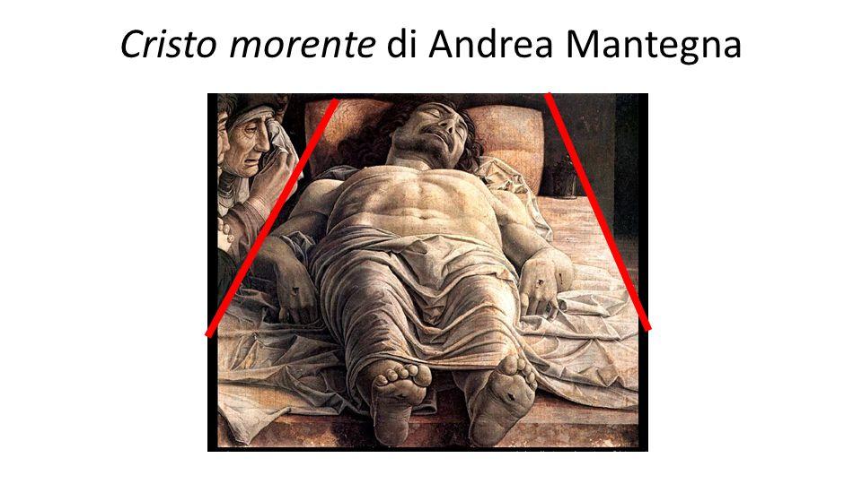 Cristo morente di Andrea Mantegna