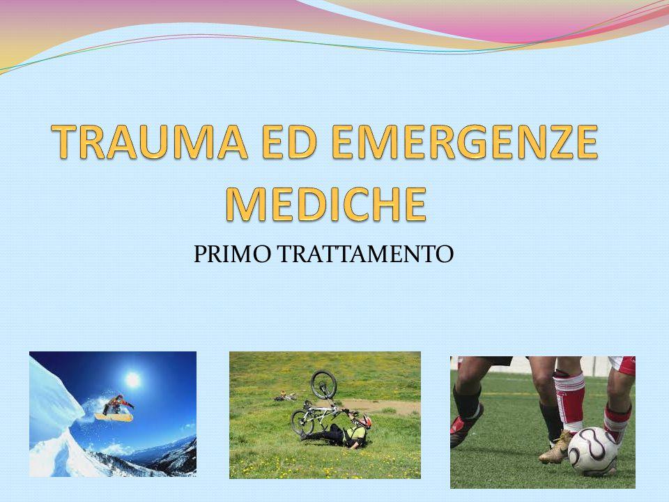 TRAUMA ED EMERGENZE MEDICHE