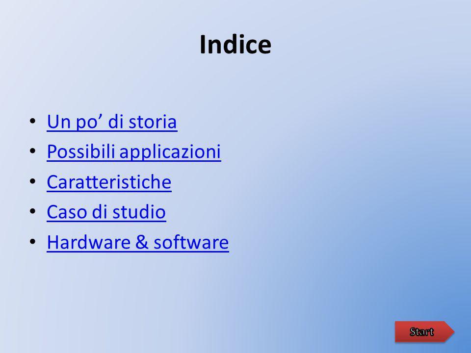 Indice Un po' di storia Possibili applicazioni Caratteristiche