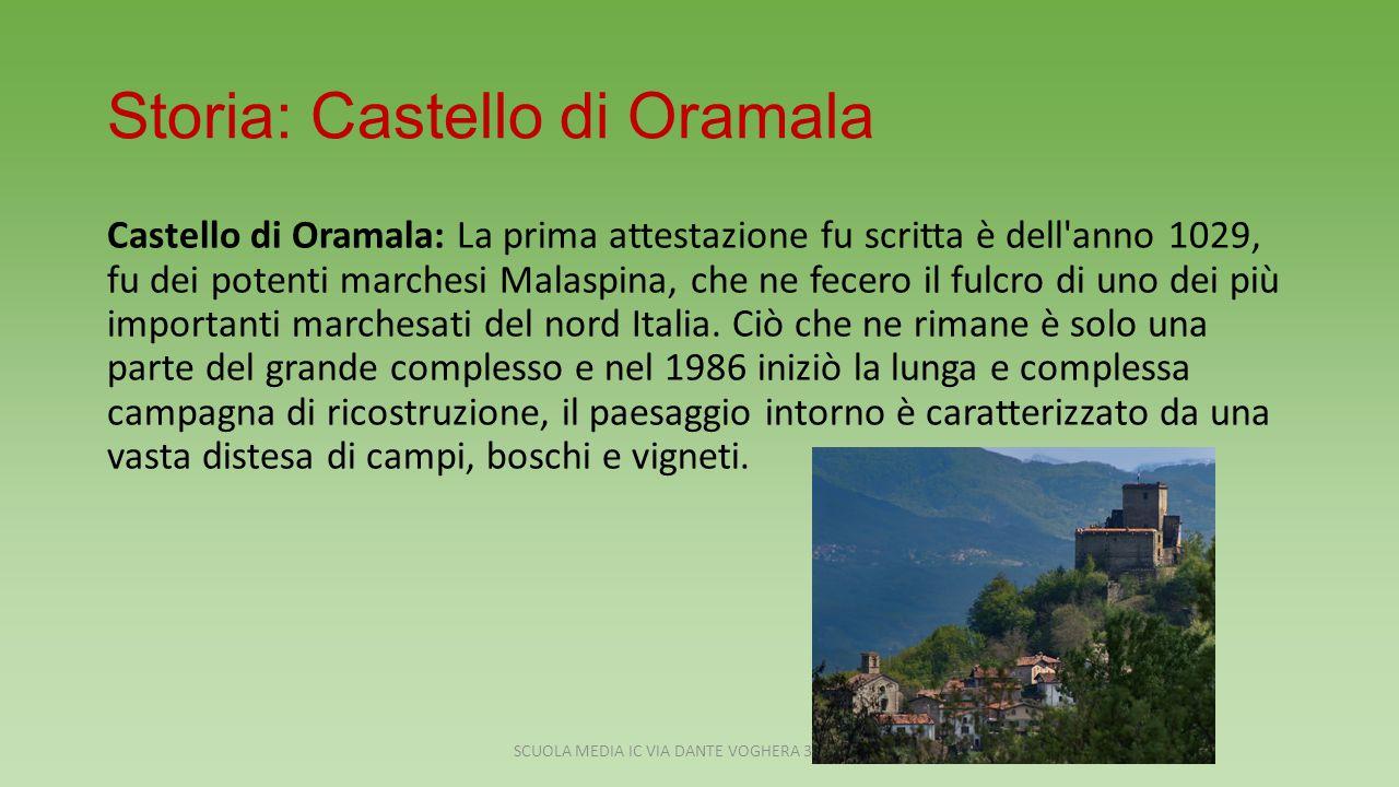 Storia: Castello di Oramala